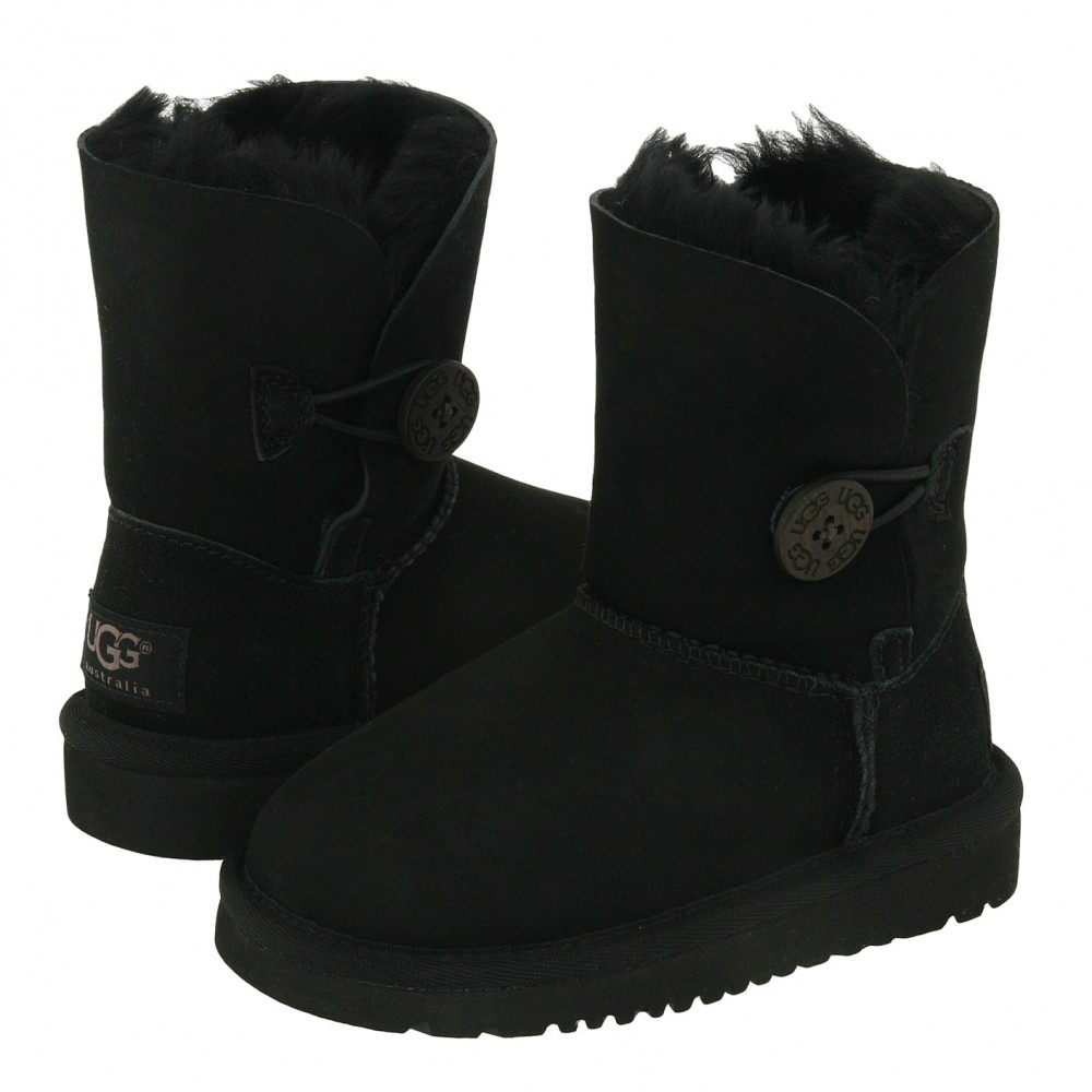 UGG Toddlers Bailey Button II Black